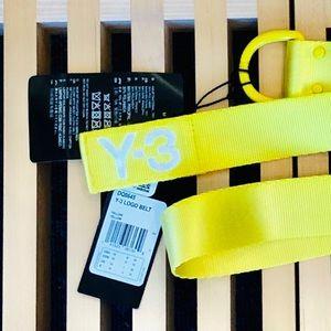 NWT Y-3 YOHJI YAMAMOTO Belt